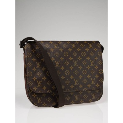 Louis Vuitton Monogram Canvas Beaubourg MM Messenger Bag