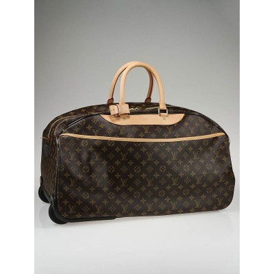 Louis Vuitton Monogram Canvas Eloe 60 Rolling Duffle Bag