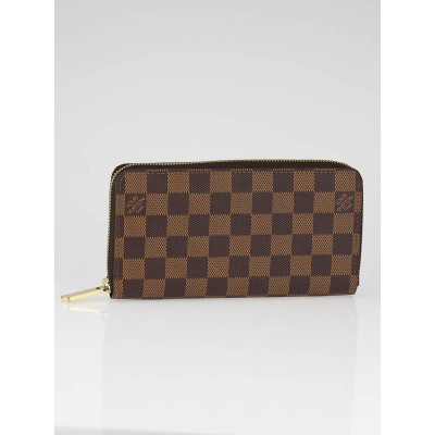 Louis Vuitton Ebene Damier Canvas Zippy Wallet