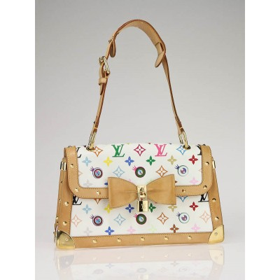 Louis Vuitton White Monogram Multicolore Eye Need You Bag