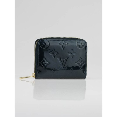 Louis Vuitton Bleu Nuit Monogram Vernis Zippy Coin Purse