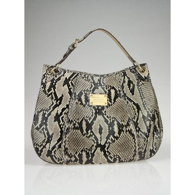 Louis Vuitton Limited Edition Python Galliera Smeralda GM Bag