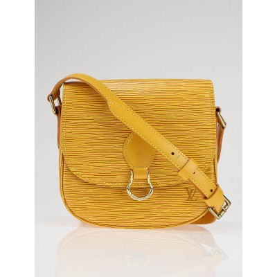 Louis Vuitton Yellow Epi Leather Saint Cloud PM Bag