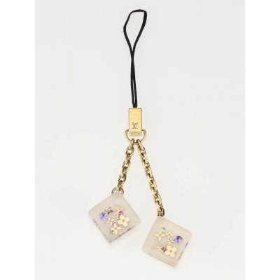 Louis Vuitton Inclusion Cube Cell Phone Charm