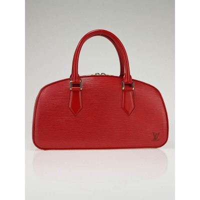 Louis Vuitton Red Epi Leather Jasmin Bag