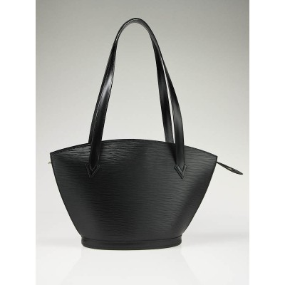 Louis Vuitton Black Epi Leather St. Jacques Tote PM Bag