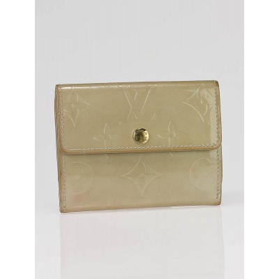 Louis Vuitton Beige Monogram Vernis Ludlow Wallet