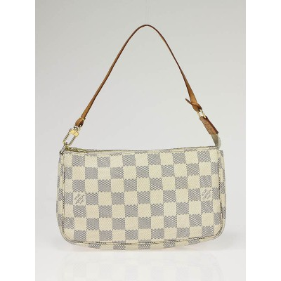 Louis Vuitton Azur Damier Accessories Pochette Bag