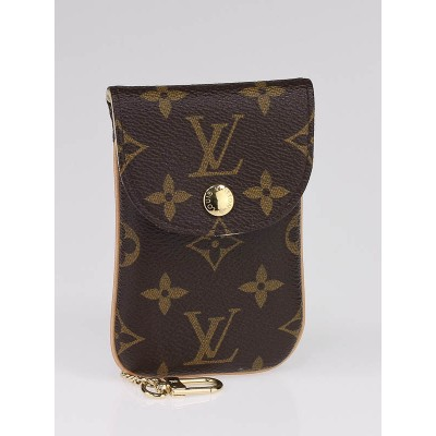 Louis Vuitton Monogram Canvas Etui MM Phone Case