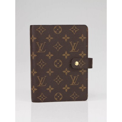 Louis Vuitton Monogram Canvas Medium Agenda Notebook