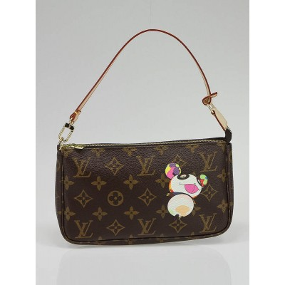Louis Vuitton Limited Edition Panda Accessories Pochette Bag