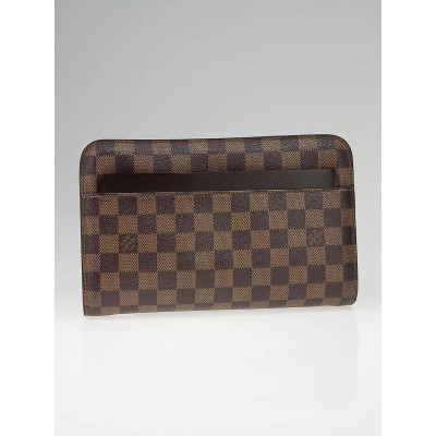 Louis Vuitton Damier Canvas Pochette Saint Louis Bag
