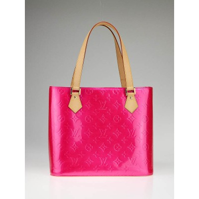 Louis Vuitton Fuschia Monogram Vernis Houston Bag