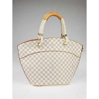 Louis Vuitton Azur Damier Canvas Pampelonne GM Bag