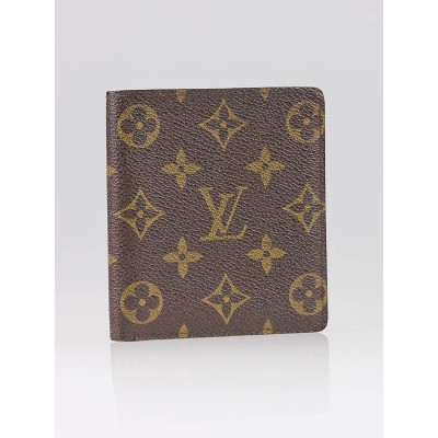 Louis Vuitton Monogram Canvas Bi-fold Wallet