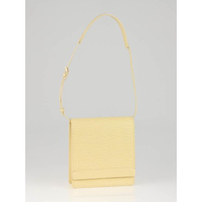 Louis Vuitton Vanilla Epi Leather Biarritz Bag