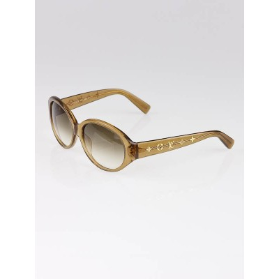 Louis Vuitton Gold Speckling Obsession Carre Sunglasses