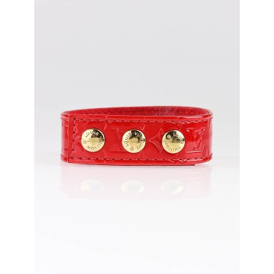 Louis Vuitton Red Vernis VIP Bracelet