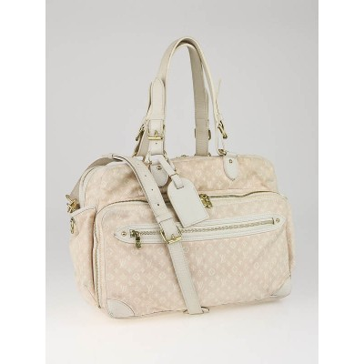 Louis Vuitton Pink Monogram Mini Lin Diaper Bag