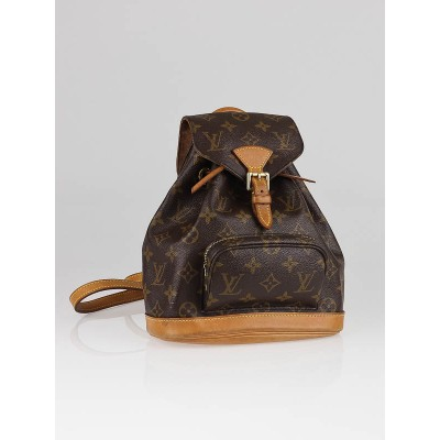 Louis Vuitton Monogram Canvas Montsouris PM Backpack