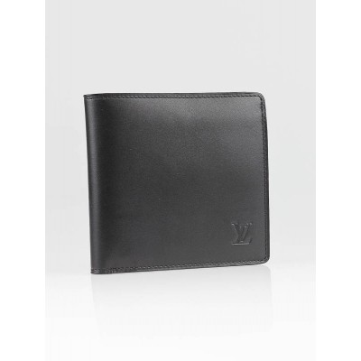 Louis Vuitton Black Nomade Leather Marco Wallet