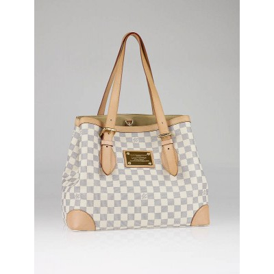 Louis Vuitton Azur Damier Hampstead MM Bag