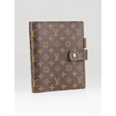 Louis Vuitton Monogram Canvas Large Agenda