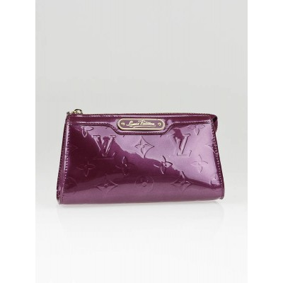 Louis Vuitton Violet Monogram Vernis Cosmetic MM Pouch