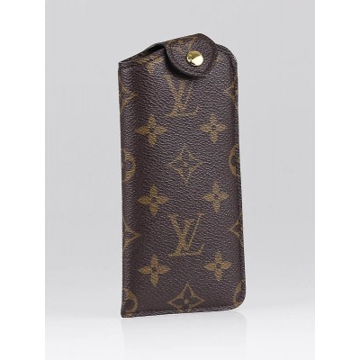 Louis Vuitton Monogram Canvas Sunglass Case MM