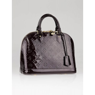 Louis Vuitton Amarante Monogram Vernis Alma Bag