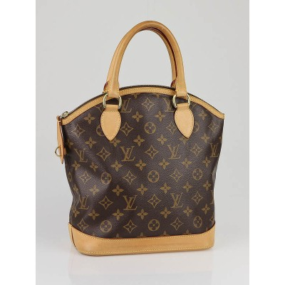 Louis Vuitton Monogram Canvas Lockit Bag