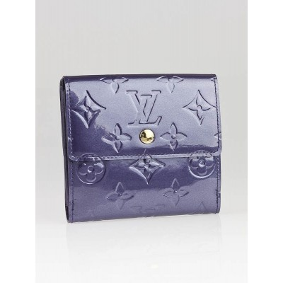 Louis Vuitton Indigo Monogram Vernis Elise Wallet
