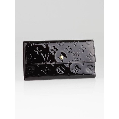Louis Vuitton Amarante Monogram Vernis Porte Tresor International Wallet