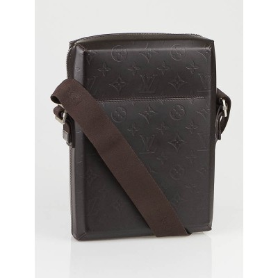 Louis Vuitton Monogram Glace Bobby Messenger Bag