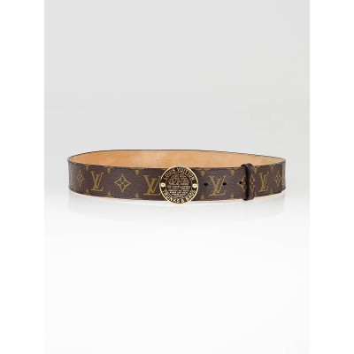 Louis Vuitton Monogram Canvas Trunks and Bags Belt