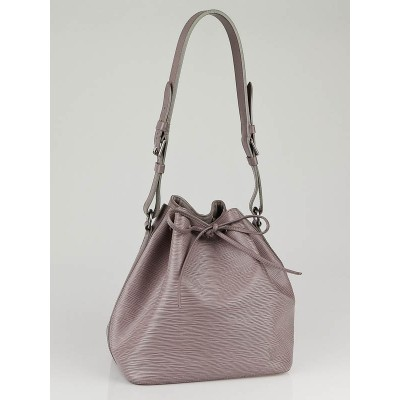 Louis Vuitton Lilac Epi Leather Petit Noe Bag