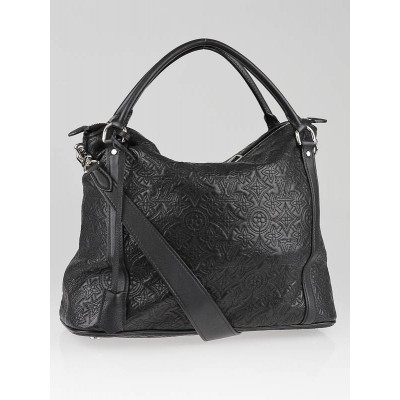 Louis Vuitton Black Monogram Lambskin Antheia Ixia PM Bag