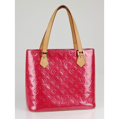 Louis Vuitton Framboise Monogram Vernis Houston Tote Bag