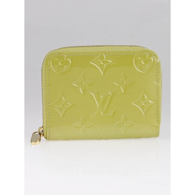 Louis Vuitton Vert Impression Monogram Vernis Zippy Coin Purse