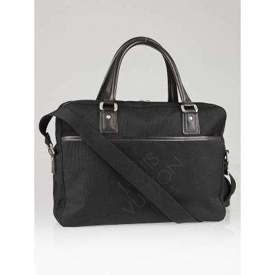 Louis Vuitton Black Damier Geant Canvas Yack Messenger Bag