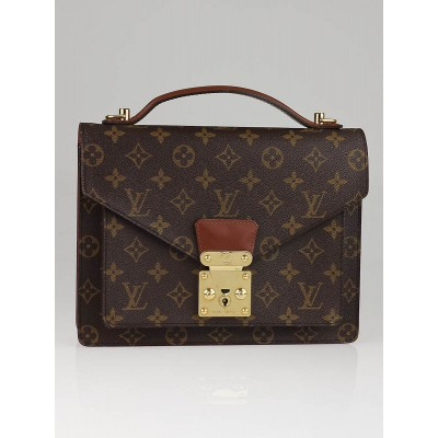 Louis Vuitton Monogram Canvas Monceau Briefcase Bag