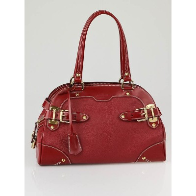 Louis Vuitton Tanami Red Suhali Leather Le Radieux Bag