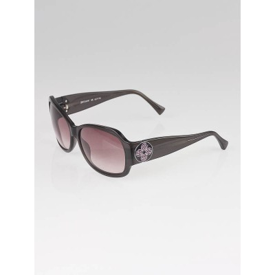 Louis Vuitton Brown/Purple Speckling Acetate Frame Ursula Strass Sunglasses