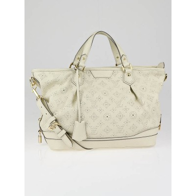 Louis Vuitton Lin Mahina Leather Stellar PM Bag
