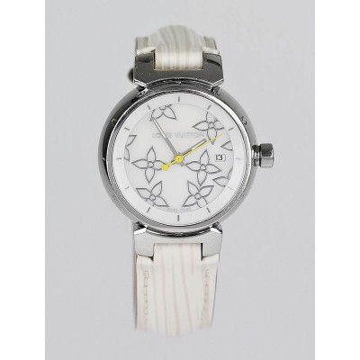 Louis Vuitton Tambour Lovely Perle Mother-of-Pearl Dial 28mm Quartz Watch
