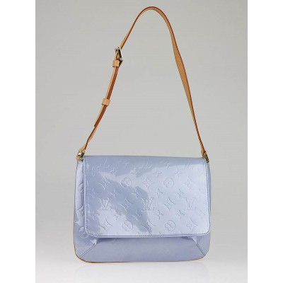 Louis Vuitton Lavender Monogram Vernis Thompson Street Bag