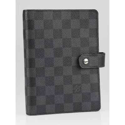 Louis Vuitton Graphite Damier Canvas Medium Agenda/Notebook