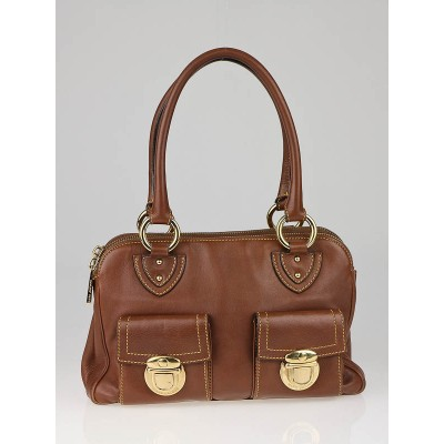 Marc Jacobs Cocoa Leather Blake Bag