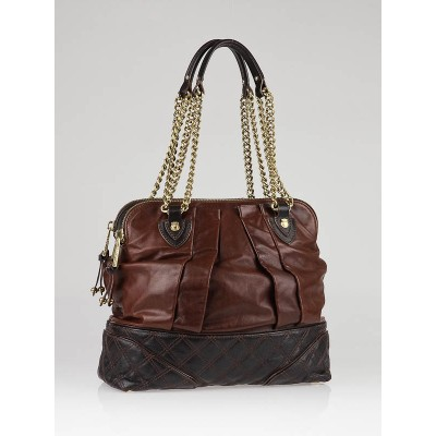 Marc Jacobs Truffle Mix Quilted Leather Classic Dash Bag
