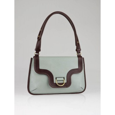 Marc Jacobs Light Blue Leather Swinger Shoulder Bag